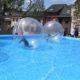 Wasserball Booble Bälle Event Verleih